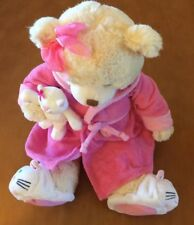 """First & Main Plush Get Well Soon Bear Named Recuperate Kate 15"""""""