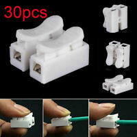 30 x 2 Pin Way Plug Car Waterproof Electrical Wire Cable Automotive Connectors