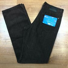 Paul Smith Corduroy Cords Jeans Trousers Straight  Fit Brown W32 L34