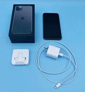 Apple iPhone 11 Pro Max - 512GB - Space Gray (Verizon) A2161 (CDMA + GSM) OG Box