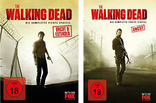 WVG  11 Blu-rays * THE WALKING DEAD - SEASON / STAFFEL 4 + 5 IM SET # NEU OVP