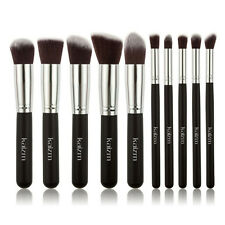 10Pcs/Set Pro Makeup Brushes Cosmetic Foundation Blending Powder Lip Brush Tools