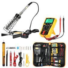 Soldering Iron Kit Welding Set Station Digital Multimeter Screwdriver Repair DIY