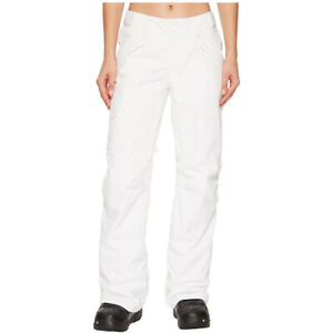The North Face Women's Outerwear Freedom Insulated Pants, TNF White, Large/Reg