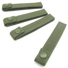 CONDOR MOD MOLLE Straps 223 Set of 4 - 4 inch OLIVE DRAB OD Green
