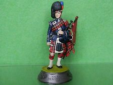 2ND BN SCOTS GUARDS PIPE MAJOR 1937 PRO PAINTED 90 MM METAL MODEL