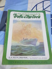 MOTONAUTICA VELA E MOTORE N. 4 APRILE 1941