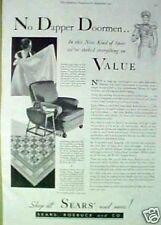 1931 Sears,Roebuck Vintage Household Chair Furniture AD