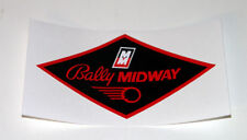Bally Midway Pinball Coin Door Decal Genuine Midway Replacement Part :Mr Pinball