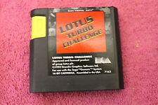 Lotus Turbo Challenge SEGA MEGADRIVE/GENESIS/NOMAD