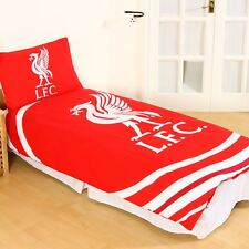 OFFICIAL LIVERPOOL FC PULSE SINGLE DUVET COVER SET KIDS ADULTS REVERSIBLE