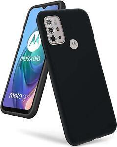 For Motorola Moto G30 Case Slim Matte Shockproof Phone Case Cover + Screen Guard