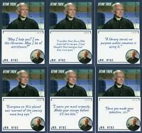 Star Trek TOS Archives & Inscriptions card #97 Mr Atoz 16 different Variations