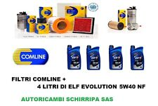 KIT TAGLIANDO FILTRI + OLIO ELF 5W40 RENAULT CLIO IV 4 1.2 16V BENZINA DAL 2012