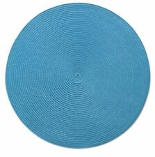 New listing Tag Round Woven Teal Placemat (205154)