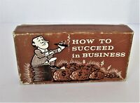 """1968 How to Succeed in Business - """"Screw Everybody"""" Novelty Gag Gift Joke Box"""