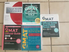 GMAT Official Guide 2018 + Quant 2019 + PowerScore Critical Reasoning + MORE