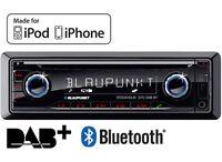 Blaupunkt Stockholm 370 DAB BT Digital car radio stereo Bluetooth CD MP3 iPhone.