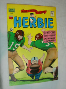 Herbie #9 F+ This way for Laffs !