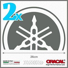 2x Grey Yamaha Tmax 01-07 BIG Diapason Scudo ADESIVI PEGATINA STICKERS
