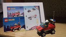 Lego® System 6525  Feuerwehrauto mit Brandmeister ,Kommandowagen