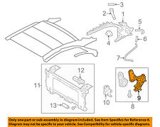 Infiniti NISSAN OEM 09-13 G37 Retractable Top-Linkage Right 79912JJ50B