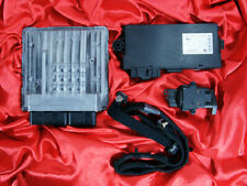 BMW E60 E61 5'es 2.5i 3.0i N52 ENGINE ECU SET DME MSV70 CAS3 KEY LOCK FLAT CABLE