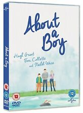 About a Boy DVD - Rare Alternate Cover Watercolour Painting - New Sealed