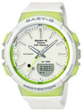 Casio Baby-G * BGS100-7A2 Runner Anadigi Step Tracker White & Green COD PayPal