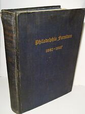 1935 Blue Book Philadelphia Furniture 1682-1807-Penn to Washington-Horner,Jr-1ST