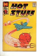 Hot Stuff,The Little Devil #14 1959 1st Print Fn 10c Airplane Cov Stumbo Harvey