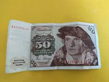Billet de 50 Deutsche Mark