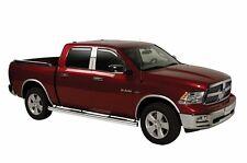 Tinted Trim Window Visors Fits 2010-2017 Dodge RAM 1500 Quad Cab (SET OF FOUR)