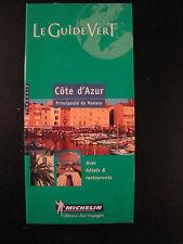 Guide Vert Côte d'Azur - 2005