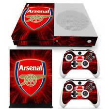Arsenal FC Xbox One S Slim Console Skin Decal Sticker + 2 Controller