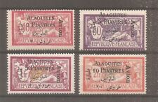 TIMBRE ALAOUITES SYRIE FRANKREICH KOLONIE 1925 PA N°1/4 NEUF* MH
