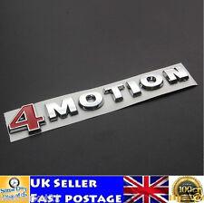 4 MOTION VW Emblem Badge ABS Badge Sticker Logo Golf Polo Touareg Passat Jetta