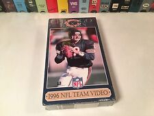 Chicago Bears 1996 NFL Team Video New Sealed VHS Football Season Highlights