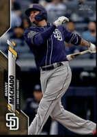 2020 Topps Gold #188 Manny Machado 732/2020 San Diego Padres