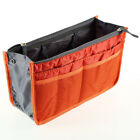 New Lady Insert Handbag Organiser Purse Large liner Organizer Bag Tidy Travel EF
