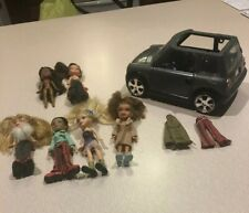 "BRATZ LIL MINI COOPER + 5 MINI 4.5"" DOLLS & ACCESSORIES Mini Brats"