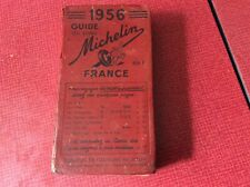 Guide MICHELIN ROUGE France 1956