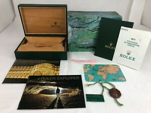 Genuine Rolex 16570 Explorer Watch Box 68.00.55 Warranty r30106001