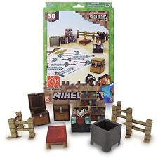 Minecraft Paper Craft Utility Pack - Over 30 Pieces - NEW
