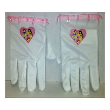 Disney Princess White Child Costume Gloves Ariel Belle Cinderella Jasmine 19244