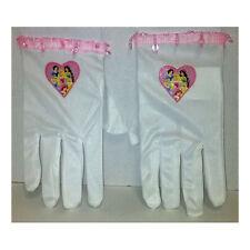 Disney Princess White Child Costume Gloves Ariel Belle Cinderella Jasmine 19244