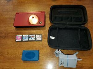 Nintendo DSi XL Super Mario Bros. 25th Anniversary Ed. Console & games, charger