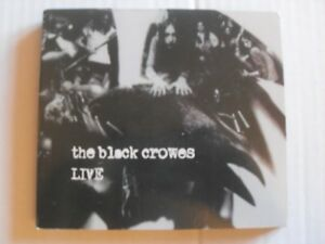 "ALBUM 2xCD ""Live"" de THE BLACK CROWES"