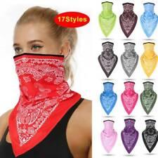 Face Mask Scarf Neck Gaiter Headwrap~ Bandana Tube Biker Summer Cap Cover Hat #