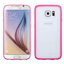 Fundas y carcasas color principal rosa de silicona/goma para teléfonos móviles y PDAs Samsung